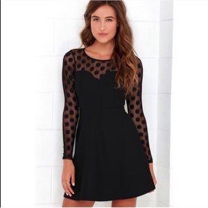 NWT Lulus hot dot-daughter dress